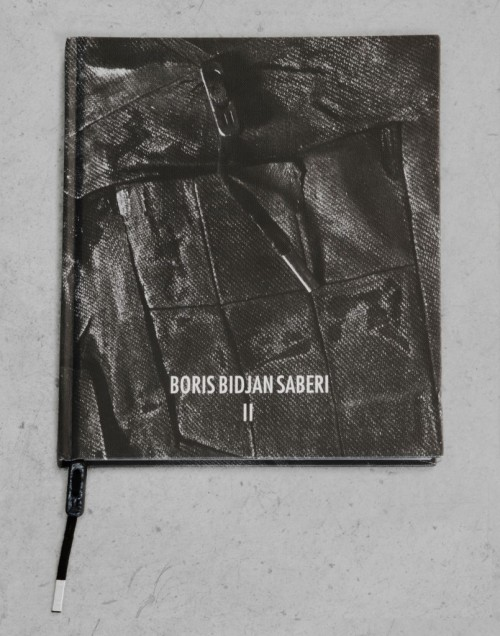 blackparadox:  Boris Bidjan Saberi - The First Monograph written by Fabriano Fabbri and published by Atlante  Slick.