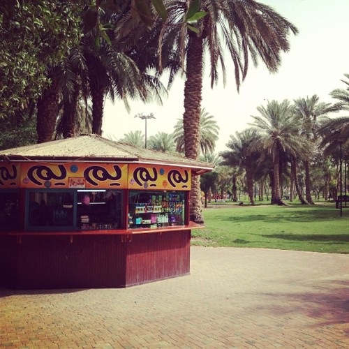 There's a country called Saudi Arabia (at Salam Park)