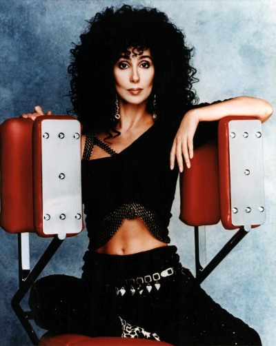 "happy birthday, Cher - in addition to her great acting in Moonstruck and Mermaids, she has had some of the best songs of the last half-century. Happy 67th, Cher! ""You Got Me Babe"" ""Bang Bang (My Baby Shot Me Down)"" ""Half-Breed"" ""Dark Lady"" ""Take Me Home"" ""I Paralyze"" ""I Found Someone"" ""If I Could Turn Back Time"" ""Just Like Jesse James"" ""Heart of Stone"" ""The Shoop Shoop Song (It's in His Kiss)"" ""Save Up All Your Tears"" ""Love Hurts"" ""Walking in Memphis"" ""Believe"" ""Strong Enough"" ""(This Is a) Song for the Lonely"" ""I Still Haven't Found What I'm Looking For"""
