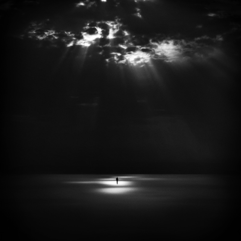 Dark and light by Hossein Zare