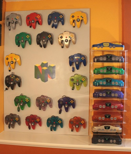 meloetta:  My modest Nintendo 64 collection.