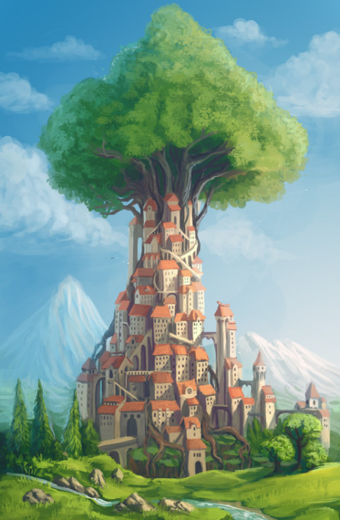Treetown by =Sedeptra