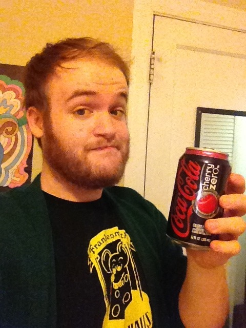 I've got my cardigan and a Coke Zero.  I'm an Internet grandpa.