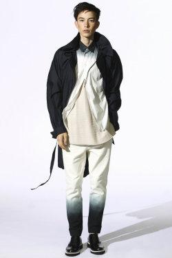 fashion japan spring 2012 Model sen japanese model sen mitsuji 3.1 Phillip Lim