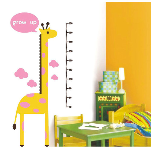 children growth chart wall decal「み」 get it from weiweidecorations
