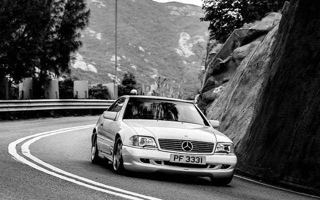 wayne75410:  Mercedes SL500 - PF3331 by Keith Mulcahy on Flickr.