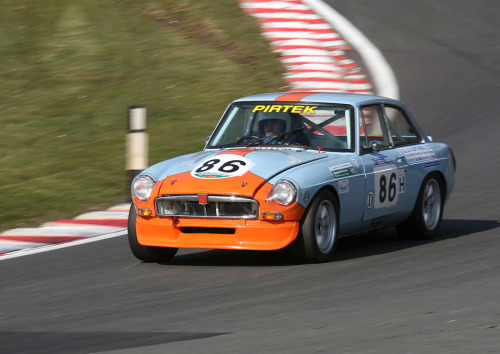 Cheerful character Starring: MGB (by roger@deepcar)
