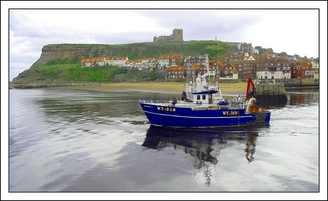 Whitby Harbour, UK