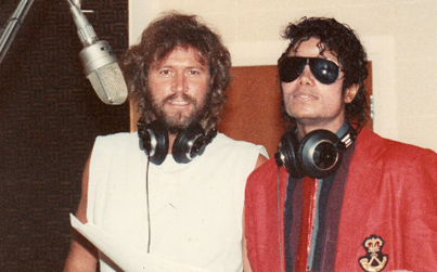 Michael Jackson - Friendly Friday: Michael Jackson and Barry Gibb