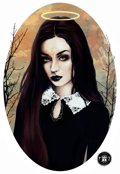 felinezegers:  For fun…..quick drawing/practice of Felice Fawn.