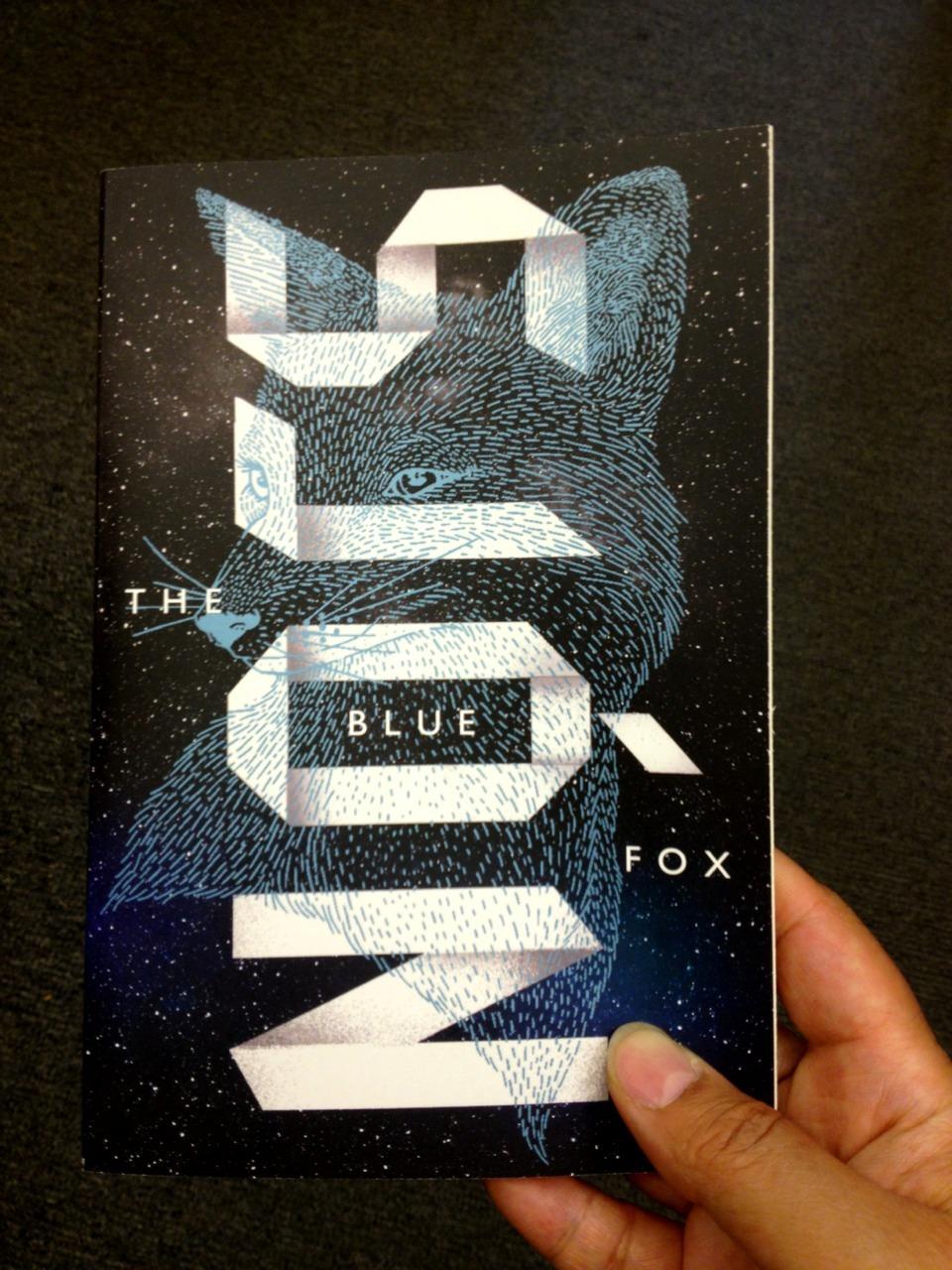 Sjon, The Blue Fox (read on the plane) http://sjon.siberia.is/
