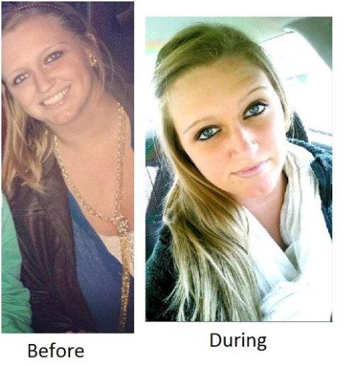 odchudzanie przed i po