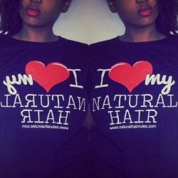 I ❤ My Natural Hair tees $18 for a limited time. Regular Price $25 http://store.naturalhairrules.com