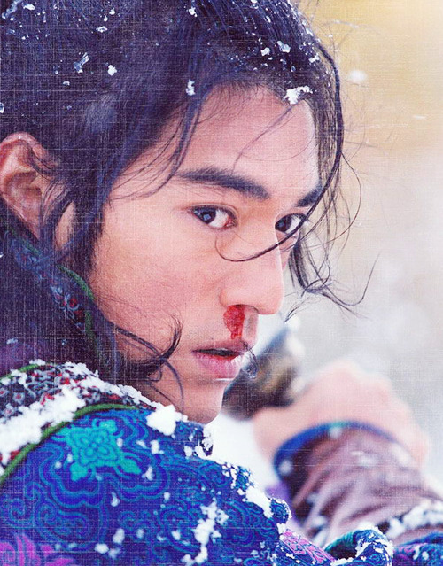Takeshi Kaneshiro in House of Flying Daggers (dir. Yimou Zhang 2004)