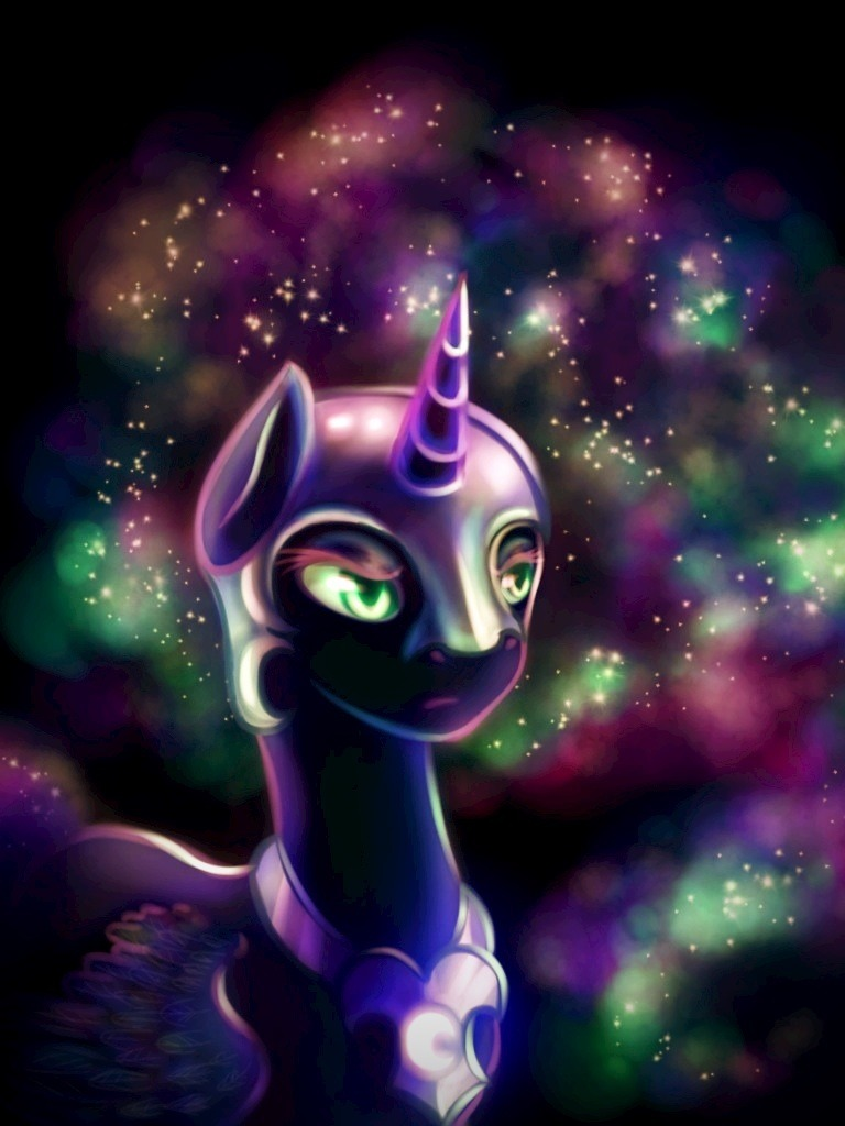 pony-effect:  MLP: FiM- Nightmare Moon by ~Mausefang