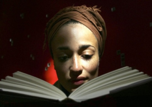 ∆ Zadie Smith | Novelist, Essayist, Short Story Writer, Editor… ∆ Photographer | Sebastian Kim [pic 2]                 Zadie Smith's 10 Rules of Writing When still a child, make sure you read a lot of books. Spend more time doing this than anything else. When an adult, try to read your own work as a stranger would read it, or even better, as an enemy would. Don't romanticise your 'vocation'. You can either write good sentences or you can't. There is no 'writer's lifestyle'. All that matters is what you leave on the page. Avoid your weaknesses. But do this without telling yourself that the things you can't do aren't worth doing. Don't mask self-doubt with contempt. Leave a decent space of time between writing something and editing it. Avoid cliques, gangs, groups. The presence of a crowd won't make your writing any better than it is. Work on a computer that is disconnected from the ­internet. Protect the time and space in which you write. Keep everybody away from it, even the people who are most important to you. Don't confuse honours with achievement. Tell the truth through whichever veil comes to hand — but tell it. Resign yourself to the lifelong sadness that comes from never ­being satisfied.