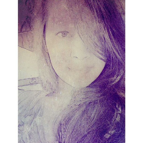 No caption. #selfie #potrait #gamma #edited #eye #hair