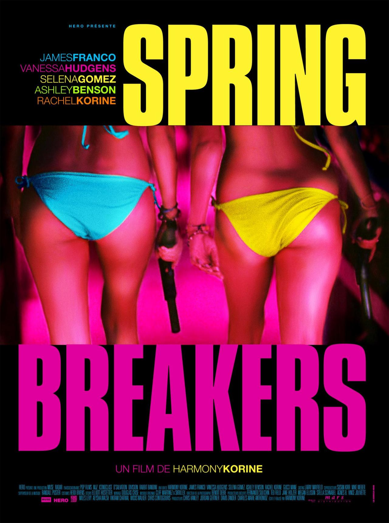suicideblonde:  Spring Breakers