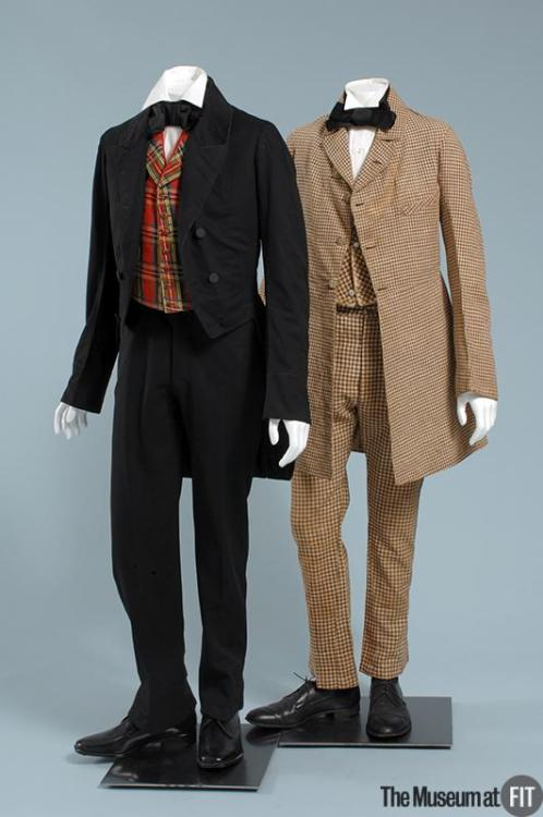omgthatdress:  Suits 1850s The Museum at FIT