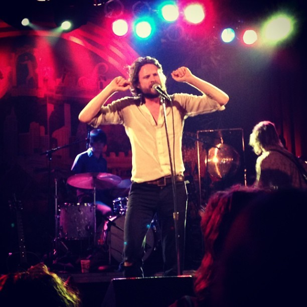 Father John Misty being a pretty man.