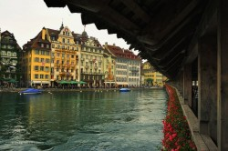 Lucerne Chapel Bridge ♦ Lucerne, Switzerland | by frankcorn