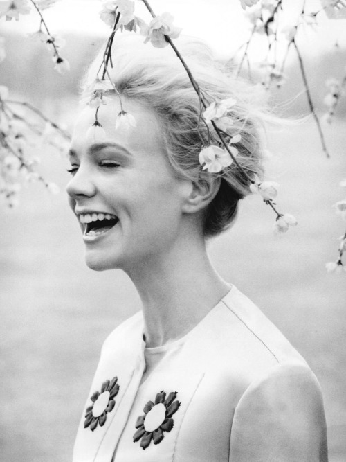 "abigaildonaldson:  Carey Mulligan in ""There's Something About Carey"" by Tom Allen for Harper's Bazaar UK June 2012"
