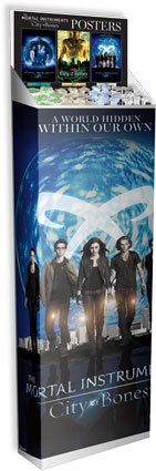 tmisource:  Merchandise: First look at MORTAL INSTRUMENTS: CITY OF BONES posters  aiee. posters.