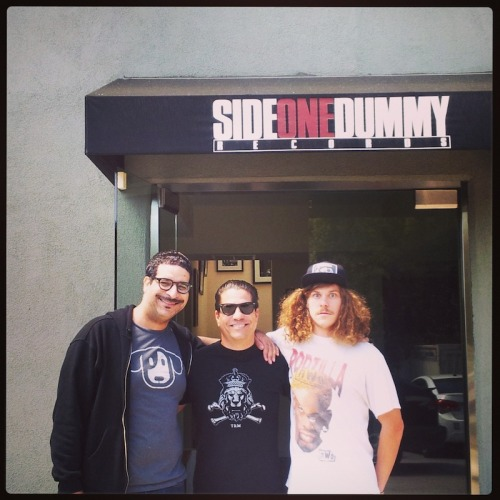 Workaholics at the Dummy HQ.  (L to R: Erik Griffin, Joe Sib and Blake Anderson.)