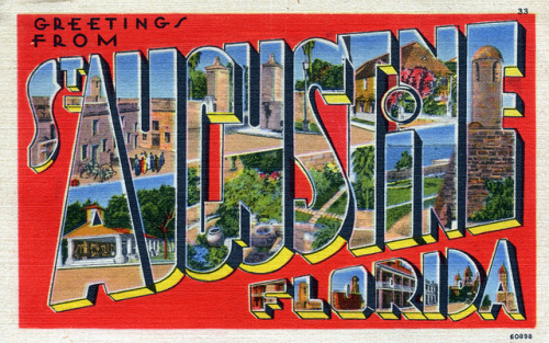 oldflorida:  Greetings from St. Augustine  (via Shook Photos on Flickr)  Love this city
