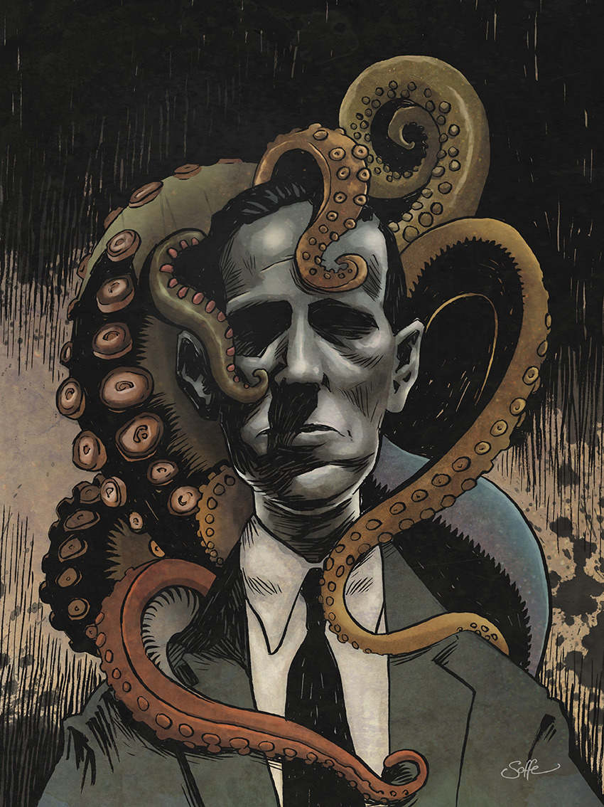 Lovecraft and Friends by Matt Soffe