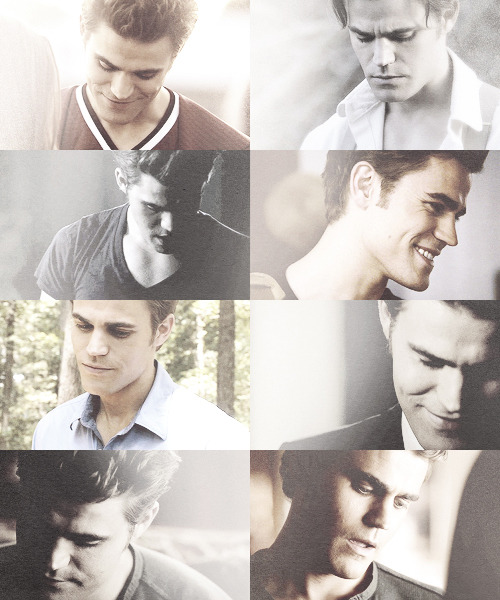 Stefan Salvatore looking down asked by wolvesintheimpala + lyndsyfonseca