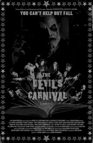 The Devil's Carnival (2012) Three individuals have, somehow, found their way to a carnival, set in hell, and run by the devil. The trio is made up of a kleptomaniac, an obsessed father, and a gullible teenager, all of whom are doomed to repeat the very sins that delivered them to the carnival's doorsteps. Lost souls enter The Devil's Carnival where they are each faced with the sins they committed in life. Rating:My favourite part of the movie was all of the props and outfits! So great! Bizarre sort of movie that is hard to describe - only seen the first part of it - I believe it's been split into three parts   Favourite | Good | Neutral | Burn It