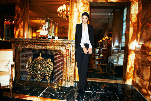 SOFIA SANCHEZ BARRENECHEA FOR LIFESTYLEMIRROR. AT THE HOTEL  DE CRILLION. PARIS SEE THE STORY HERE Photo: Dylan Don