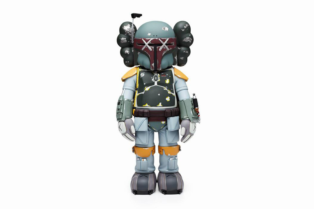 supersonicelectronic:   KAWS. Boba Fett by KAWS, available January 26th.