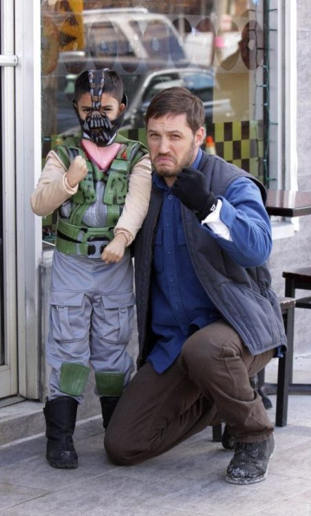 Tom Hardy and a fan - so cute!