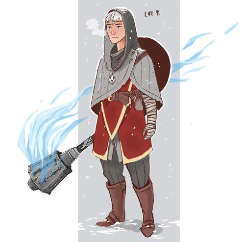 dnd dnd character cleric silver flame oc characterdesign 2dart 2dartist