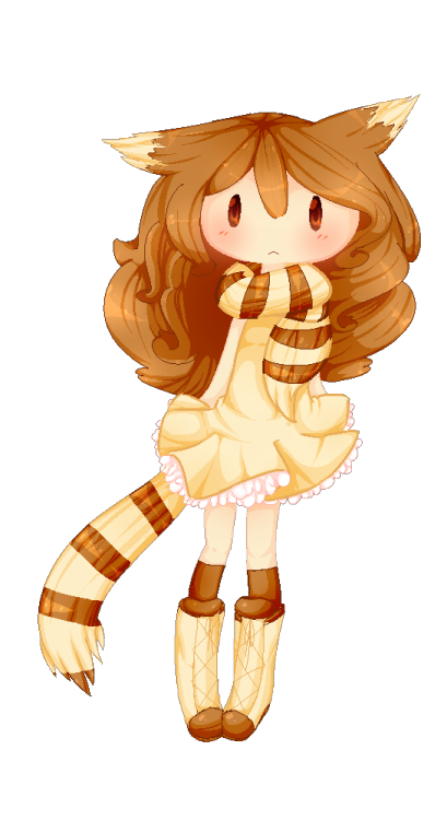 kamiiberuartworks:  Me as a Furret by ~Kamiiku