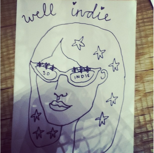 "chung-alexa:  ""Original artwork by Alexa #wellindie"""