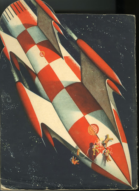 (via Dreams of Space - Books and Ephemera: Flying in Space (1961))