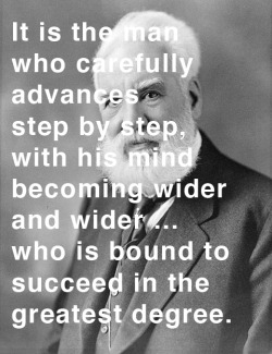 explore-blog:  Alexander Graham Bell on success