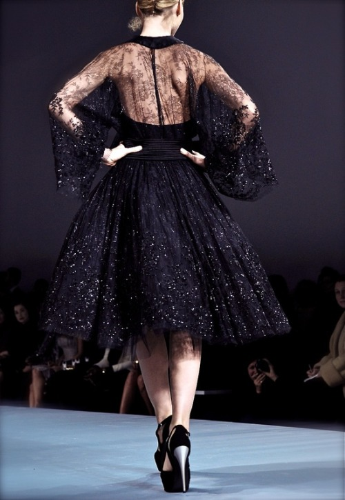 iconm:  High Fashion Ballerina Tutu | Elie Saab Couture S/S 2009
