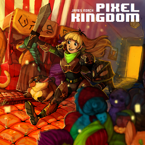 soselfimportant:  PIXEL KINGDOM is a 34 track chiptune album following the story of Kit and her trusty dog Jems on their adventure to save the (name drop) Pixel Kingdom from the clutches of Evil! With some great track art and even some free tracks, You should definitely check it out! (and then buy it) (in fact buy it first) (buy two copies)  Pixel Kingdom is here!