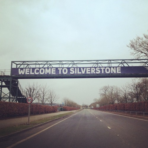Where I spent my day… #silverstone #race #racing