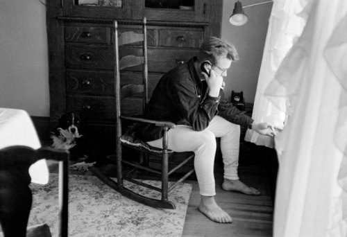 James Dean, Fairmount, Indiana, 1955.