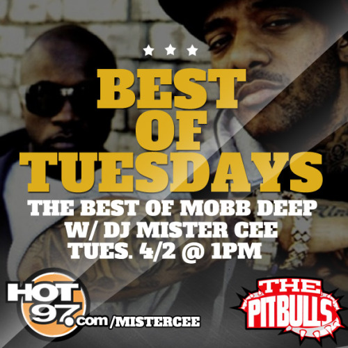 Today @ 1pm on hot97.com/mistercee.