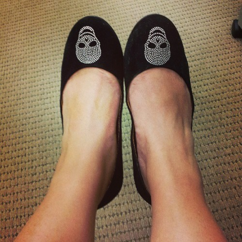 #foxinflatsstyledare DAY 15: Fab Flats #shoes #flats #skulls #studded #black #balletflats #rock #punk #stylish #fun #funky #dark #comfy #walking #style #fashion #feet #legs #photochallenge #styledare #May #picoftheday #spring #photoaday #foxinflats