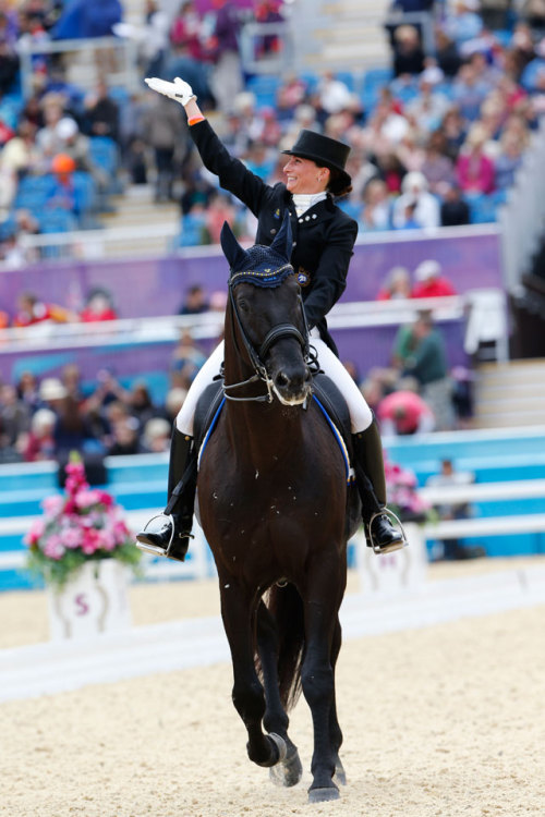 stirrupirons:  Minna Telde and Santana (http://www.olympic.org/photos/equestrian-dressage)