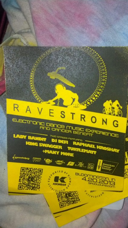 Rave for cancer :3