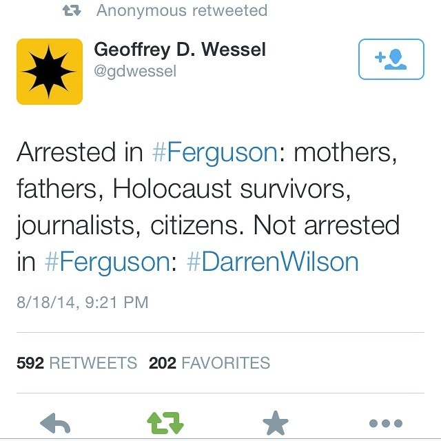 whatazendra:  Just let this sink in for a bit. #ferguson