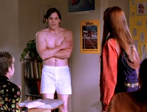 "Nicholas Brendon in ""BUFFY: THE VAMPIRE SLAYER"" (TV Series)"